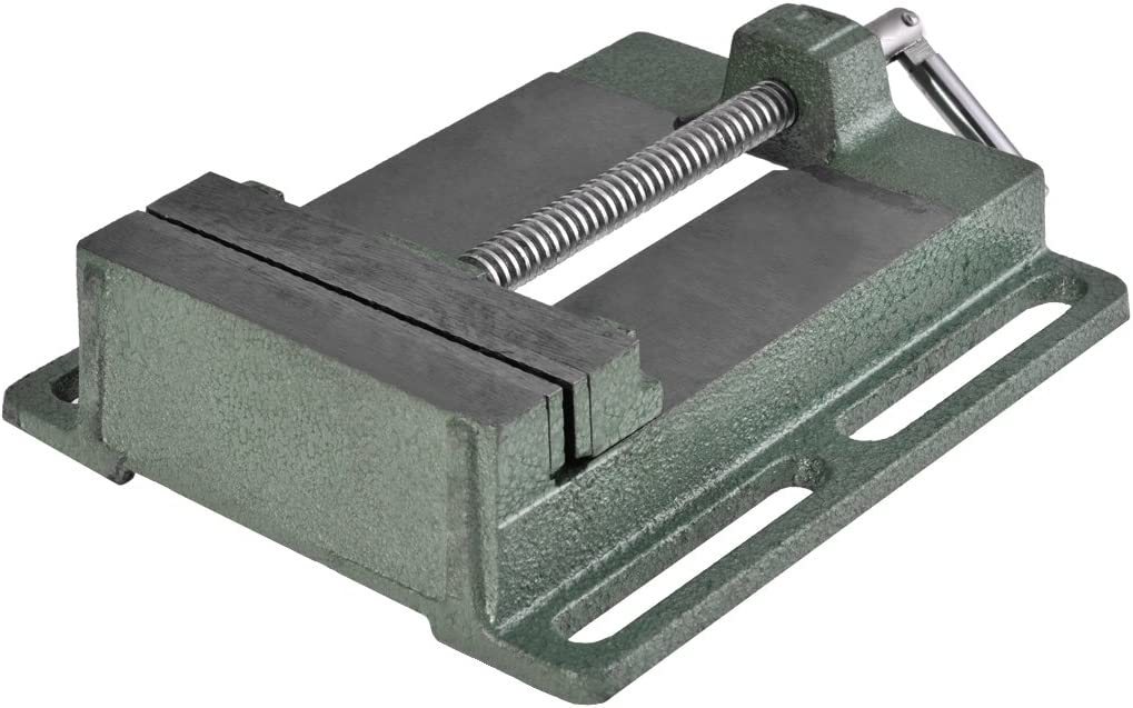 Largeur de M/âchoire de 125 mm /Étau pour Perceuse d/établi Buyi-World /Étau de Forage Perceuse /à Colonne Outil dAtelier de Fraisage