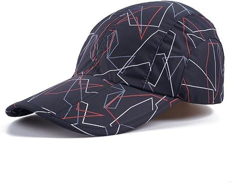 Flexible Brim Sun Visor Hats for Men Women Summer Breathable Baseball Caps