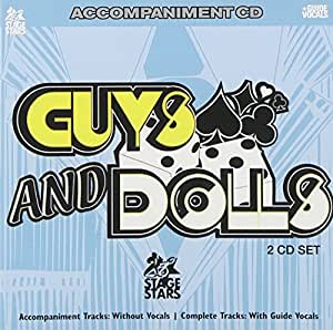 Sing The Hit Broadway Musical GUYS AND DOLLS (Accompaniment 2-CD Set)