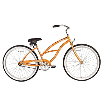 Micargi Pantera Beach Cruiser Bike Orange 26 Inch