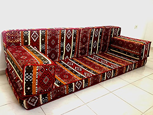Floor seating,floor cushions,arabic seating,arabic cushions,floor sofa,oriental seating,furniture,majlis,jalsa,floor couch,arabic couch - MA 17