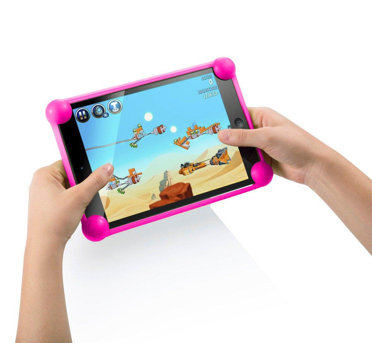 Tablet hü lle tablethü lle hü lle fü r Tablet kompatibel mit Tablets in jeder Grö ß e kompatibel mit allen Tablets des Marktes (Fuchsia) Color Dreams Smart Products