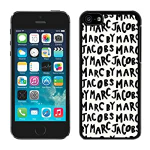 Hot Sale iPhone 5C Screen Cover Case With Marc by Marc Jacobs 03 Black iPhone 5C Case Unique And Beautiful Designed Phone Case