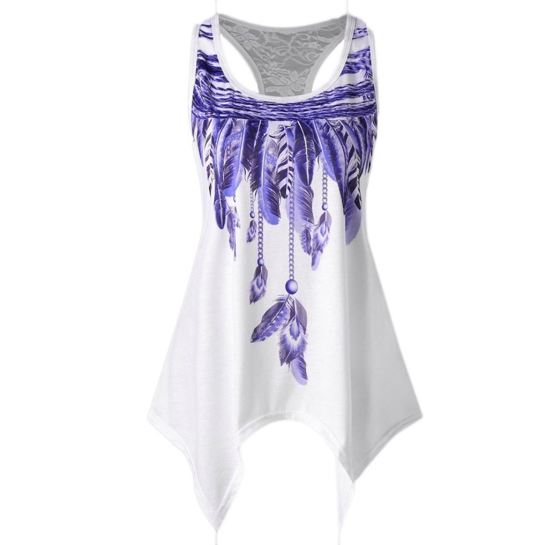 Besooly Women Block Sleeveless T-Shirts Ladies Bandage Tank Tops Casual Dress Strappy Shirt Blouse