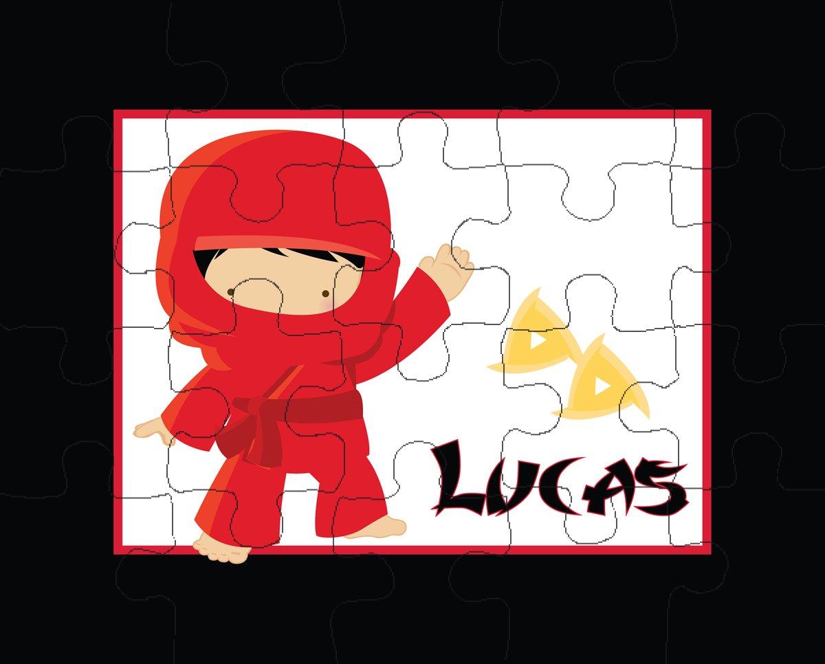 Amazon.com: Ooh La La Printables Red Ninja 20-Piece ...
