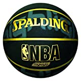 Spalding NBA Highlight Outdoor Basketball, Size 7 (Black)