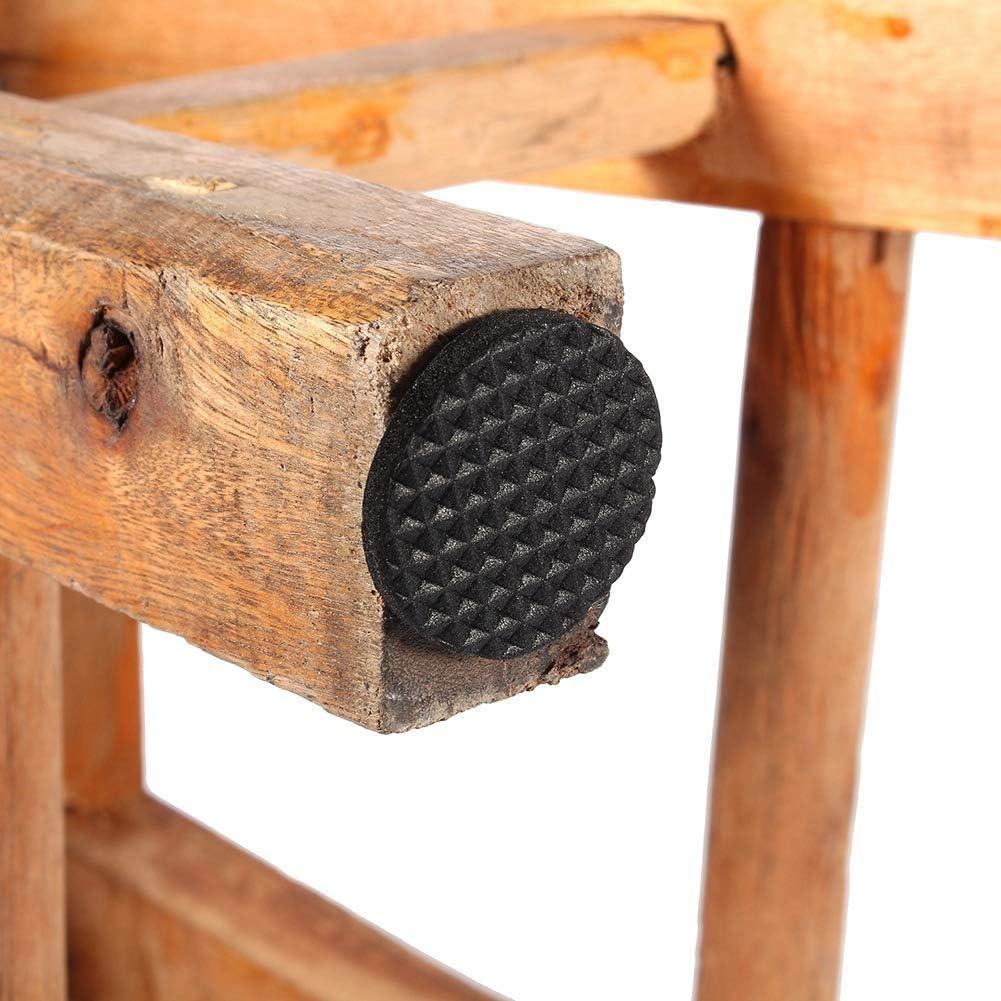 Oumij Pieds en Caoutchouc Pads 30Pcs Noir Antid/érapant Autocollant Protecteurs De Plancher Meubles Canap/é Table Chaise Pieds en Caoutchouc Pad