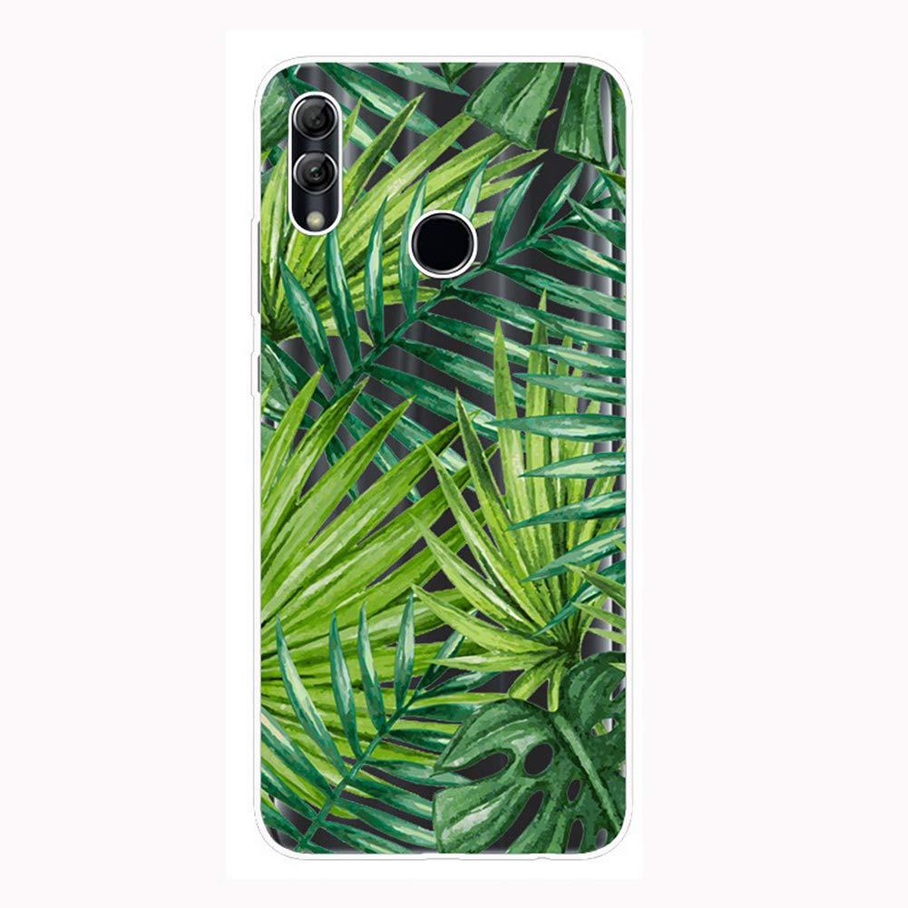 Felfy Kompatibel mit Huawei P Smart 2019 H/ülle,Kompatibel mit Honor 10 Lite Case Transparent Silikon Gel TPU Handy H/ülle Ultra D/ünn Schutzh/ülle mit Bunt Muster Handyh/ülle Sto/ßfest H/üllen Back Cover