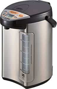 Zojirushi America Corporation Hybrid Water Boiler And Warmer, 4-Liter, Stainless Dark Brown
