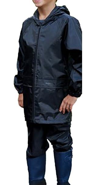 622d92128c3 New Kids Regatta Boys Girls Stormbreak Jacket   Trouser Suit 100% Waterproof