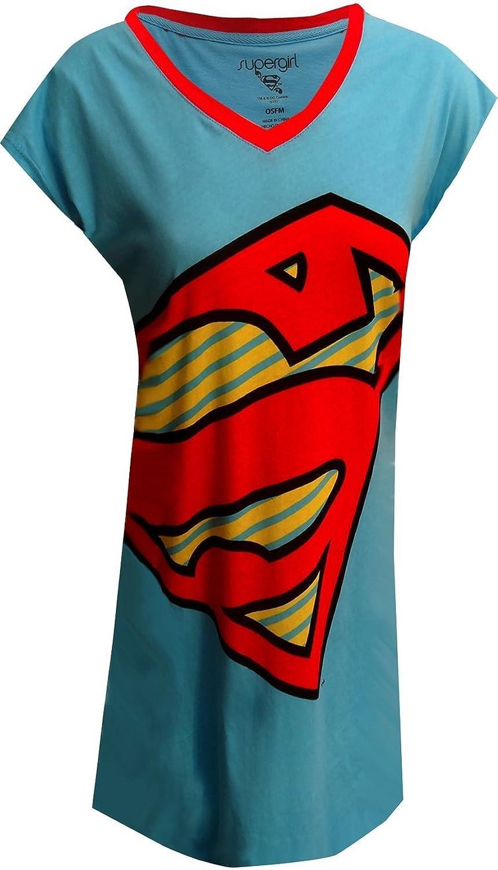 Adult Crop Top Chemise Supergirl