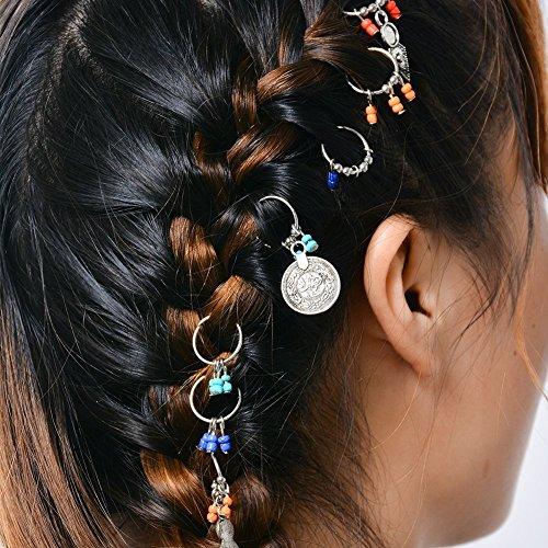 Braun Kristall Haarspange Dekor Metall Haar Clip Kralle Haarklammer Haarband
