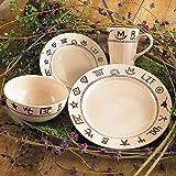 Amazon.com : Western Cowboy Dinnerware Dishes Plates Plate Set 16 ...