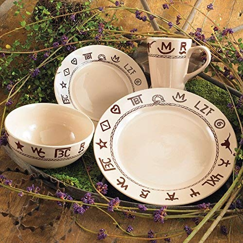 Black Forest Decor Branded Dinnerware Set - 16 pcs