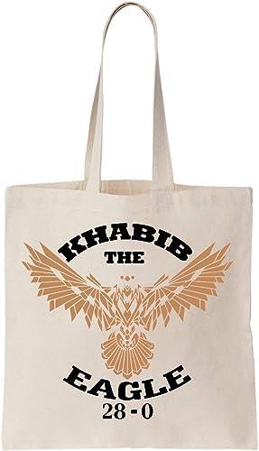 Khabib The Eagle 28 Algodón Bag Tote Bag: Amazon.es: Zapatos y ...