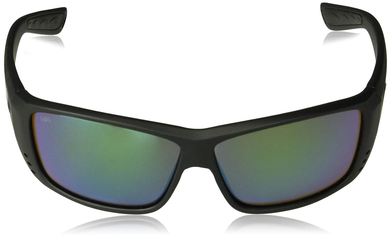 Costa del Mar Unisex-Adult Cat Cay AT 01 OBMGLP Polarized Iridium Wrap Sunglasses
