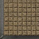 WaterHog Commercial-Grade Entrance Mat, Indoor/Outdoor Floor Mat 4' Length x 3' Width, Camel by M+A Matting