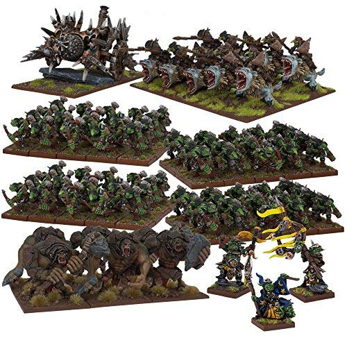 Kings of War: Goblin Mega Army Box by Mantic (Image #1)