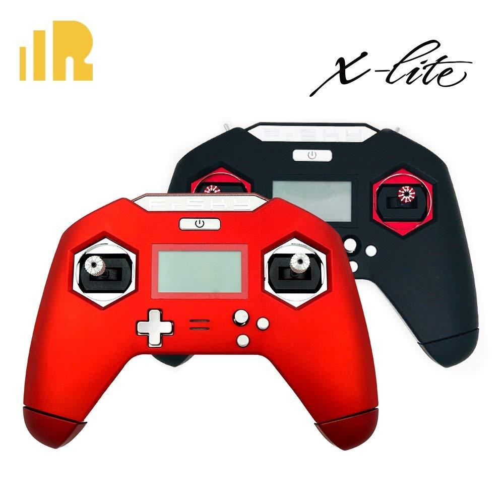 FrSky Taranis X-Lite 2.4Ghz ラジオトランスミッター 18650バッテリーキャップ付き レッド X-LITE-18650 B07MTS7YMV レッド