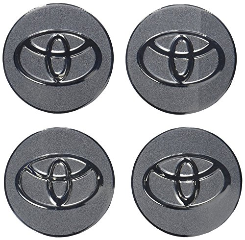 4pcs C023 56.5mm Car Styling Accessories Emblem Badge Sticker Wheel Hub Caps Centre Cover TOYOTA COROLLA RAV4 Camry PRIUS REIZ VIOS YARIS EZ ()