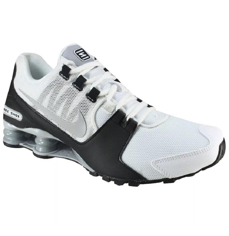 Conceptos Nike Shox Avenue Zapatos para correr -100 Blanco Negro plata Hombre Size 12 Avenue Running plata 783HO