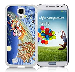 Popular Sell Design Samsung S4 TPU Protective Skin Cover Merry Christmas White Samsung Galaxy S4 i9500 Case 72