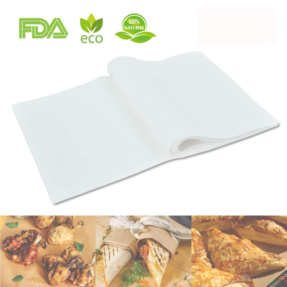 100pcs Air Fryer Liners, BESEGO 9inch Bamboo Steamer Liners, Premium Perforated Parchment Steaming Papers, Non-stick Steamer Mat, Perfect for 5.3 & 5.8 QT Air Fryers/Baking/Cooking SYNCHKG122015