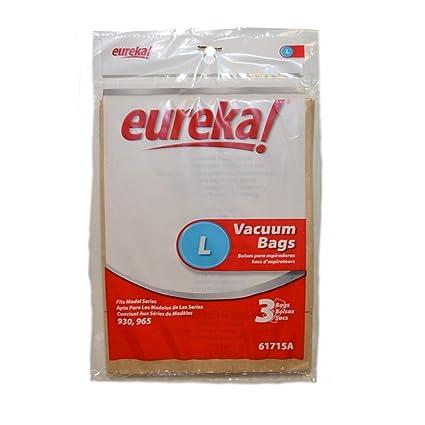 Eureka L Vacuum bags (3pk) Genuine Part #61715A