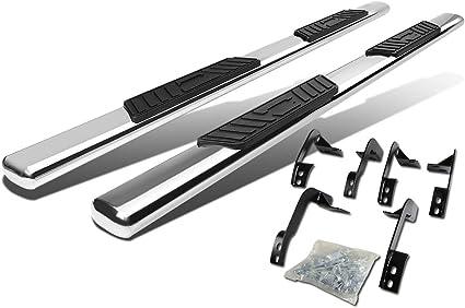 """Chrome 5/"""" Oval Side Step Nerf Bar for 09-15 Ram 1500//2500//3500 Ext Quad Cab 4Dr"""