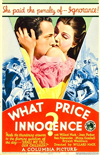 Posterazzi What Price Innocence (Aka Shall The Children Pay) Midget Window Card 1933. Movie Masterprint Poster Print (11 x 17)