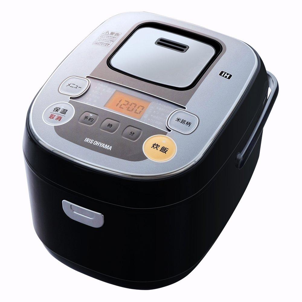 6位.お米の特徴を引き出す アイリスオーヤマ IH式炊飯器 銘柄炊き分け機能付き