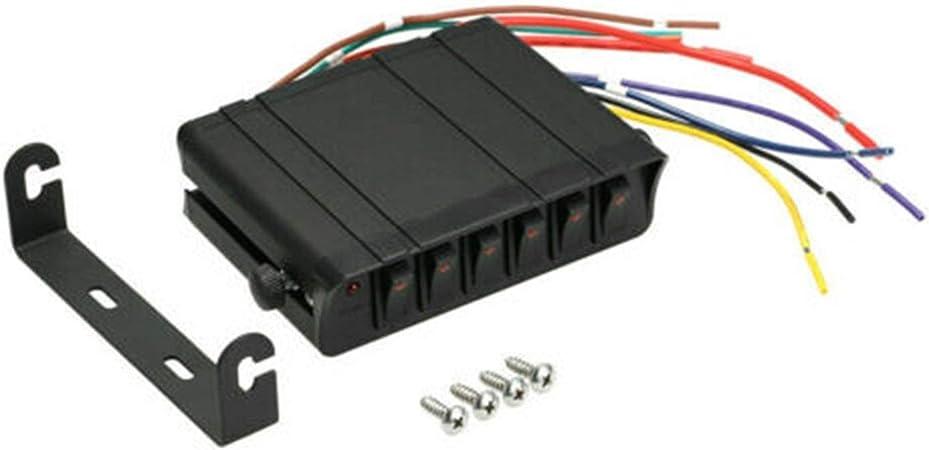 FEIFUSHIDIAN Brillante Interruptor Negro Caja de luz estroboscópica 130mmx100mmx40mm Accesorios de Repuesto Cromo: Amazon.es: Hogar