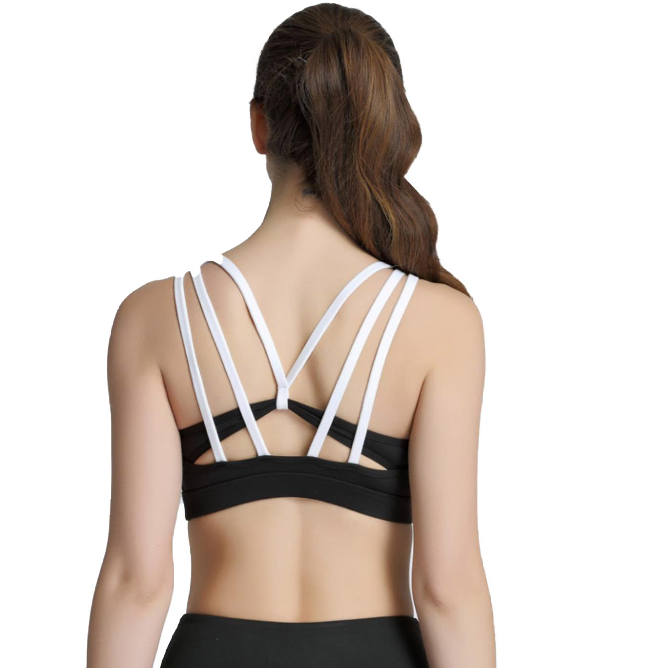 80b51947ea NEMEOPEN Women Sexy Backless Sports Bra Push up Underwear Fitness Yoga  Shirt Quick Dry Workout Underwear at Amazon Women s Clothing store