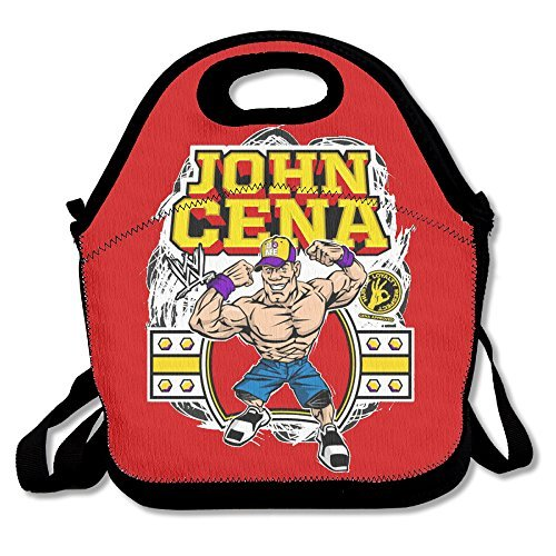 Black John Cena Unisex Lunch Tote For Woman Man Kid (Authentic Joker Costume)