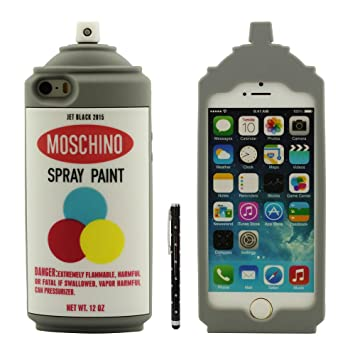 Desconocido iPhone SE Carcasa Protectora, Vistoso Pintura en ...