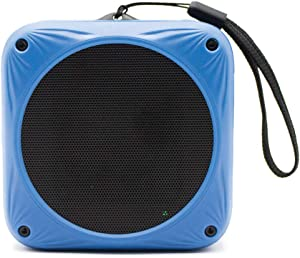 Sunfox Waterproof Bluetooth Speaker | Solar & USB Rechargeable | 20H Playtime | Built-in Mic | Great for Beach, Bike, Pool, Shower, Travel | Wireless, Portable Speaker for iPhone, Samsung and More