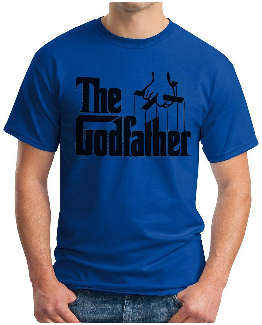OM3 GODFATHER - T-Shirt Mafia Trilogie Marlon Brando Chicago New York  America USA Kult Geek, S - 5XL: Amazon.de: Bekleidung