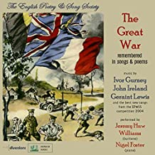 The Great War Remembered in Songs & Poems