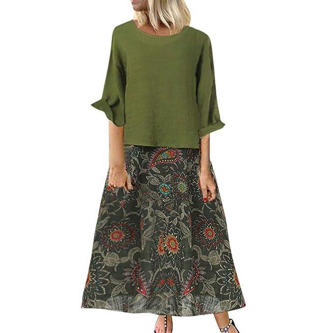 💘💘💘Vestidos NiñA Primavera Mujeres Vintage Estampado ...