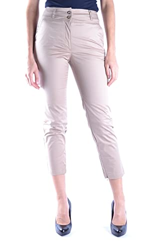 Dolce E Gabbana Mujer MCBI099253O Beige Algodon Pantalón