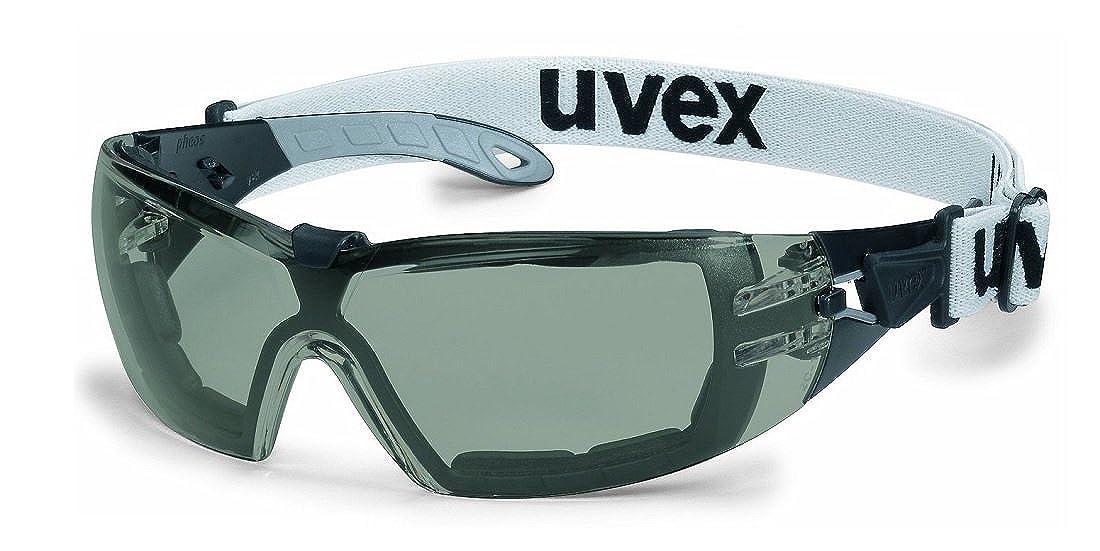 Uvex Schutzbrille pheos guard SVextreme grau 23% sw/grau 9192181
