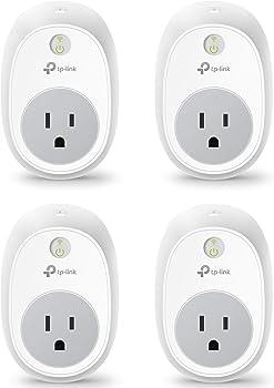 4-Pack TP-Link HS100 Wi-Fi Smart Plug