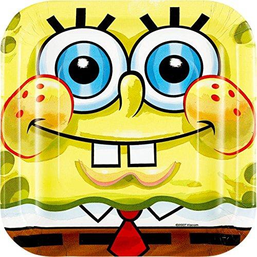 Spongebob Cake Plates (8-pack) ()