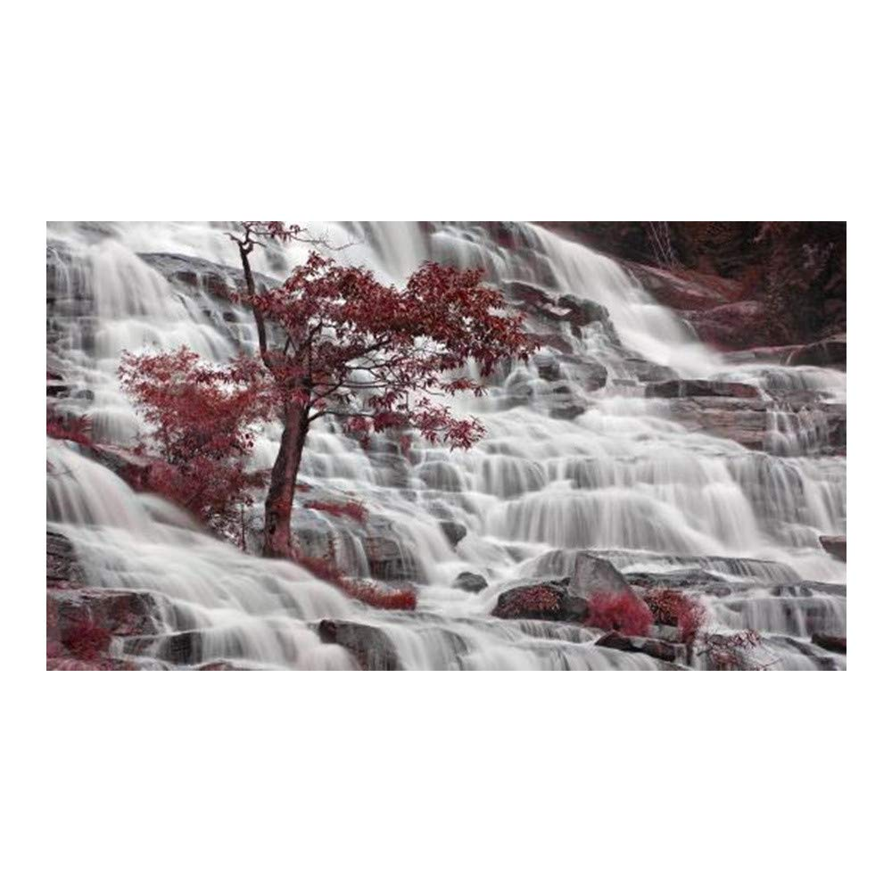 DIY 5D Diamond Painting Kit, Hoshell Partcial Drill Landscape Scenery Diamond Embroidery Rhinestone Cross Stitch Arts Craft Supply for Home Wall Decor (C)