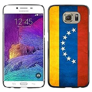 Be Good Phone Accessory // Dura Cáscara cubierta Protectora Caso Carcasa Funda de Protección para Samsung Galaxy S6 SM-G920 // National Flag Nation Country Venezuela