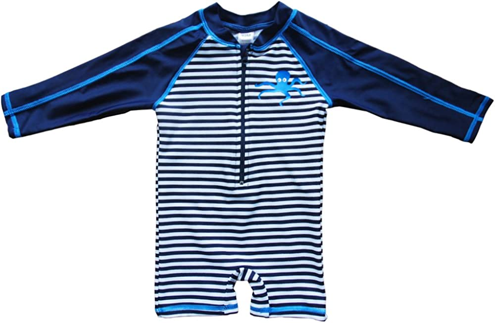 Wishere Baby Beach One-Piece Swimsuit UPF 50 -Sun Protective Sunsuit