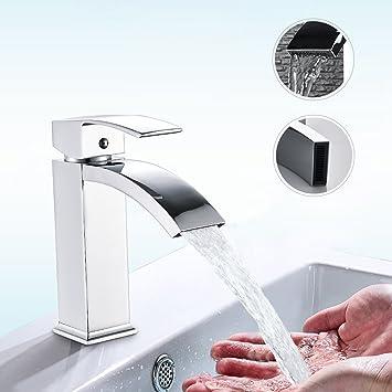 Top BONADE Badarmatur Waschtischarmatur Wasserfall Wasserhahn GD99