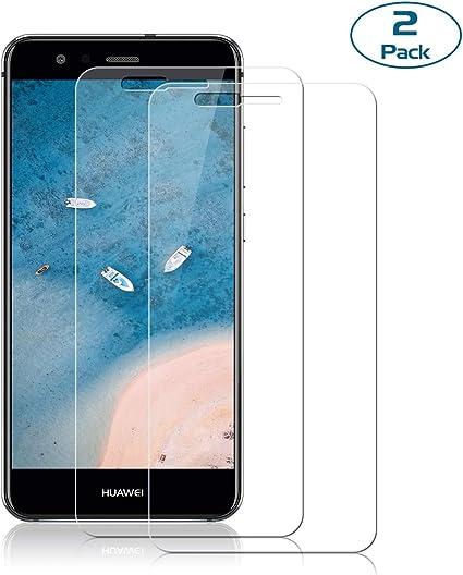 NONZERS [2 Unidades] Cristal Templado para Huawei P10 Lite ...