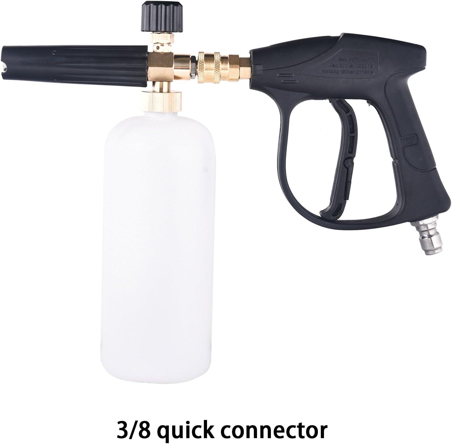 High Pressure Washer Spray Gun Lance Trigger Jet Wash Water For Car 3//8/'/'