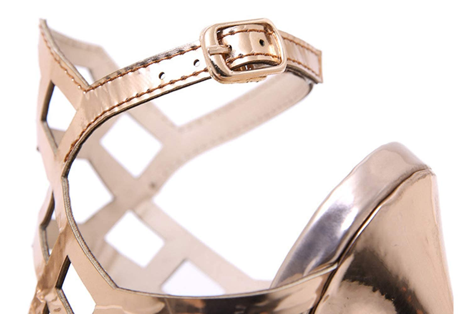 Shiney New Damen Damen Damen Sandalen Hochhackige Schuhe Mode Stöckelschuhe 96e754